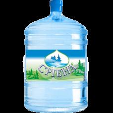 """Вода питьевая ™ """"Срiбна"""" (Карпаты) в оборотном баллоне 19 л. (негазированная)"""