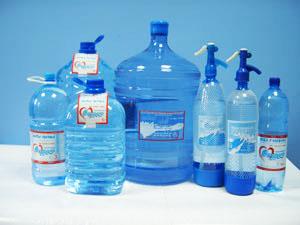 """Питьевая вода """"Чистий Струмок"""": образцы продукции"""