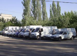 Автомобили службы доставки питьевой воды
